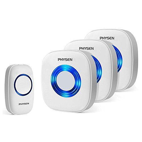 Wireless Doorbell,PHYSEN Model C...