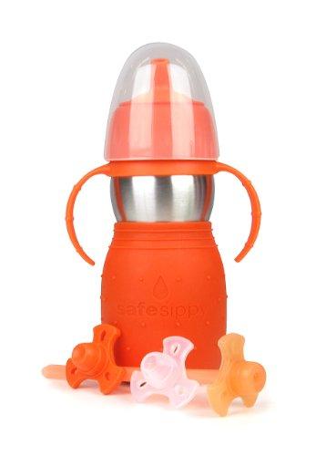 Kid Basix Safe Sippy 2 - Botella infantil con...