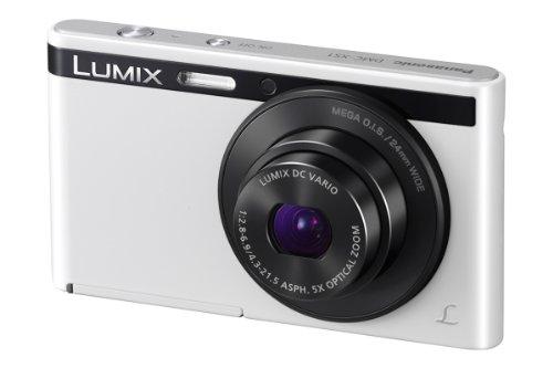 Panasonic Lumix DMC-XS1EG-W Digitalkamera (6,9 cm (2,7 Zoll) LCD-Display CCD-Sensor, 16,1 Megapixel, 5-fach opt. Zoom, 90MB interne Speicher, USB) weiß Ccd 2,7