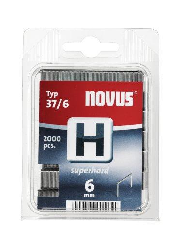 NOVUS 042-0369 GRAPA H 37 6 MM 2000 ST SUPERDURO