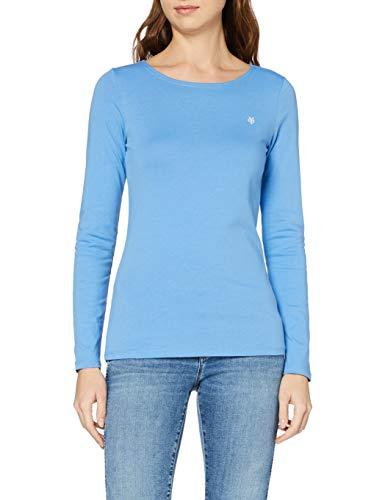 s.Oliver Damen 04.899.32.5070 T-Shirt, Blau (Navy 5959), 38