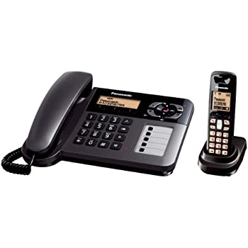 Panasonic KX-TG6461GT Schnurlostelefon mit Anrufbeantworter