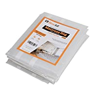 Mattress bag for moving Heavy Duty - Double size 500g. 231cm x 137cm x 35cm. pack of 2 [Will fit mattress size 120 x 190 x 15 cm]