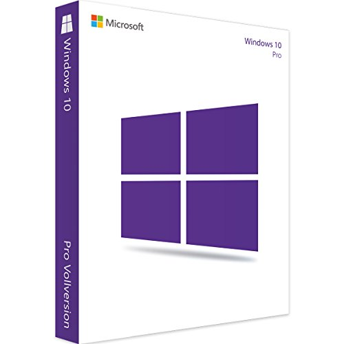 Windows 10 Pro 32 Bit & 64 Bit - Spacemex | Authentischer Lizenzschlüssel + Anleitung zum Herunterladen | Versand per Post und per E-Mail max 12 Stunden Versandzeit -