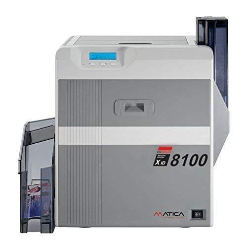 Matica Xid 8100 Duplex Retransfer Karte Drucker mit Startpackung