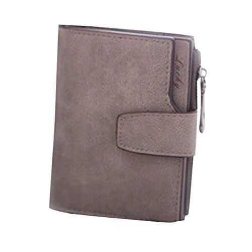 Yogogo Mini Grind Magic Bifold Leder Brieftasche
