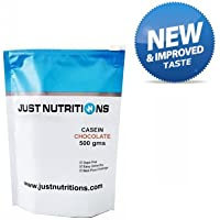 Just Nutrition Casein Chocolate Pouch 500 Gm, 16 Servings