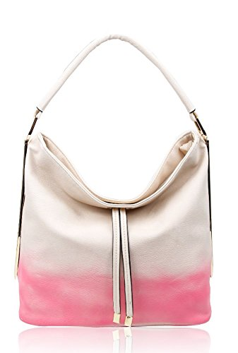 FoxLady - Sacchetto donna Cream/Pink