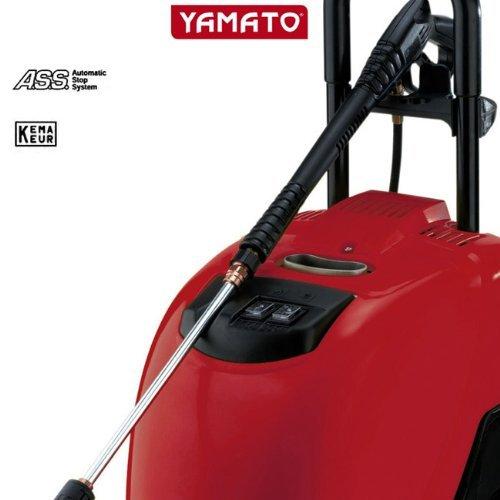Yamato idropulitrice acqua calda professionale alta pressione 135 bar 2100 w ass