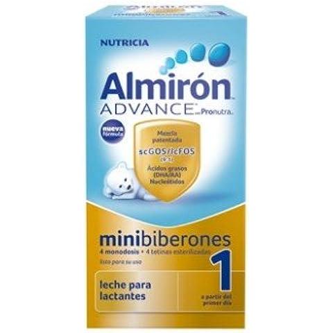 Almiron Advance 1 Liquido Minibiberones 70 ml 4 unds
