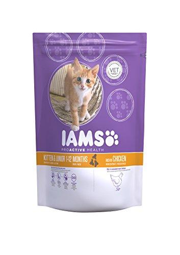 IAMS ProActive Health, Cibo Secco per Gatti Cuccioli e Giovani, 1 - 12 Mesi, Gusto Pollo, 2.55 kg