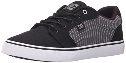 DC Shoes Anvil TX SE Uomo US 7.5 Nero Scarpe Skate UK 6.5 EU 40