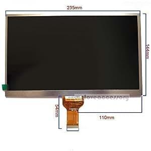 Dalle Écran LCD 10,1 Pouces Pour Tablette Google 4.1 4.2 H-B10127FPC0-W1 JZH 1346