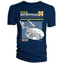 Star Trek - Camiseta - Cuello redondo - Manga Corta - Hombre