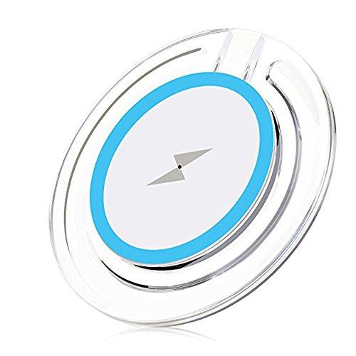 Myfei Q3Cargador inalámbrico Pad, portátil ultra antideslizante carga para iPhone 8/iPhone 8plus/iPhone...