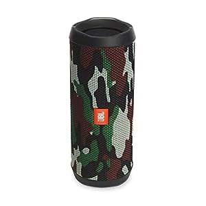 JBL Flip 4 Bluetooth Box in Camouflage – Wasserdichter, tragbarer Lautsprecher mit Freisprechfunktion & Sprachassistent – Bis zu 12 Stunden Wireless Streaming mit nur einer Akku-Ladung