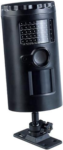 VisorTech Wetterfeste HD-Überwachungskamera IRC-100 mit Nachtsicht, SD-Recording