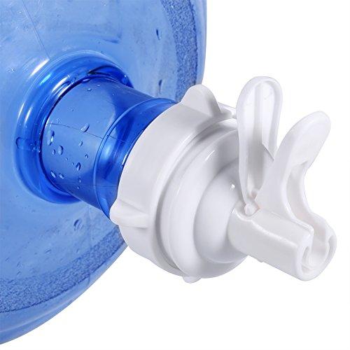 2 paquetes Dispensador de agua manual Almacenamiento de agua para bomba compatible con Jarra de 5 galones