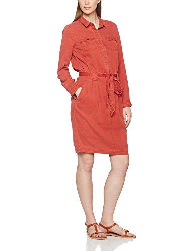 s.Oliver Damen Kleid 14704826580, Rot (Tandoori Red 3849), 40