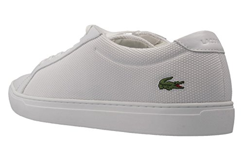 Lacoste L.12.12 Bl 2, Baskets Basses Homme Weiß