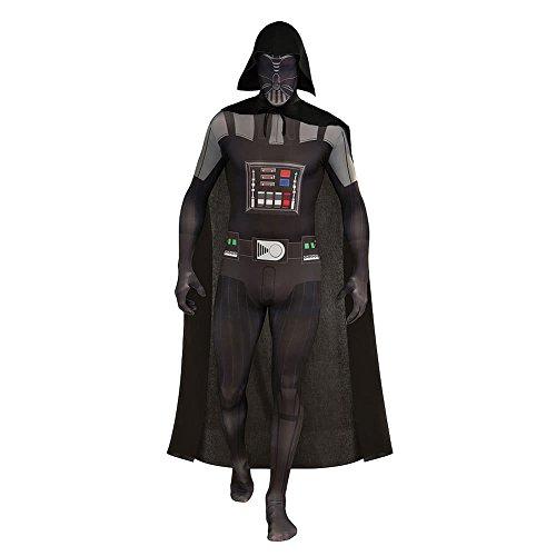 NEU Herren-Kostüm 2nd Skin Darth Vader, Gr. M