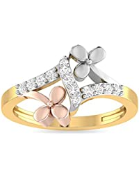 Aucent By PC Jeweller The Dorsey 22KT Yellow Gold Ring For Women