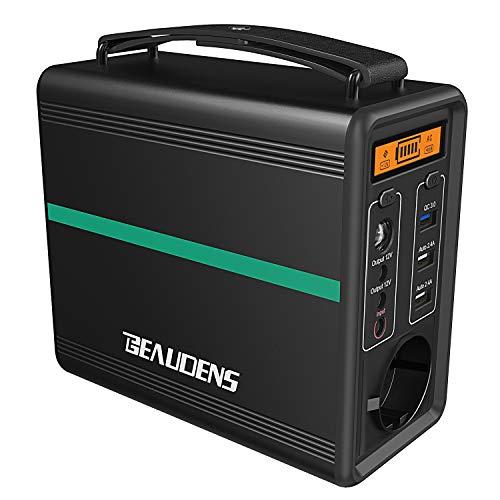 BEAUDENS Générateur d'Énergie Solaire Portable 166Wh, Batterie LiFePO4 Durée...