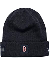 New Era MLB SPORT Strick Winter Mütze Boston Red Sox