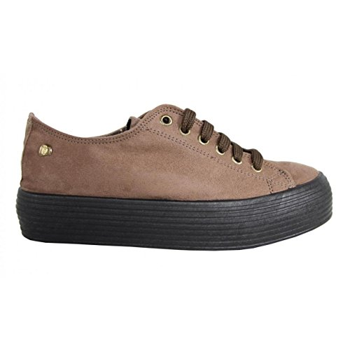 MTNG Sneaker für Damen 69120 Antelina Taupe Schuhgröße 40