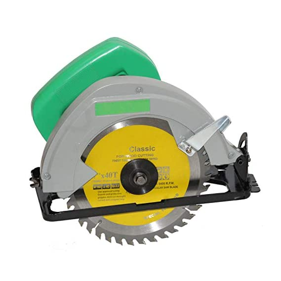 Digital Craft Heavy Duty Circular Saw 7 and 1250W Powerful Motor with TCT Blade Handheld Tile Cutter (1250 W)