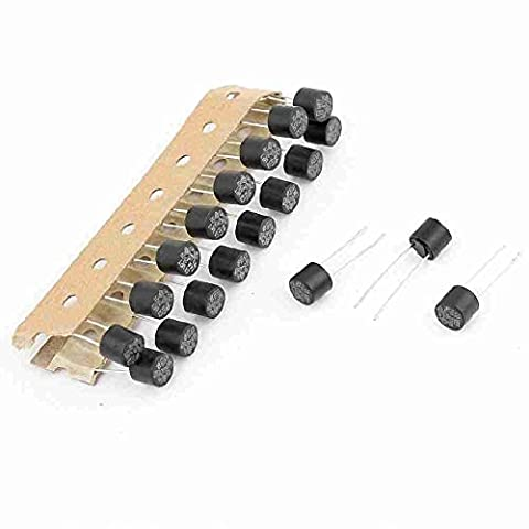Move&Moving(TM) 20 Pcs AC 250V 4A DIP Mounted Slow Blow Miniature Micro Fuses 8x8mm