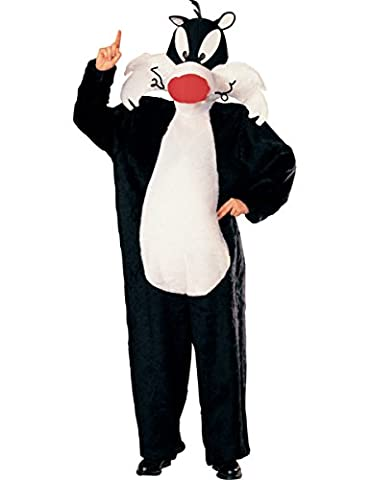 Offizielles Kater Sylvester Kostüm für Erwachsene Karneval Fasching Verkleidung