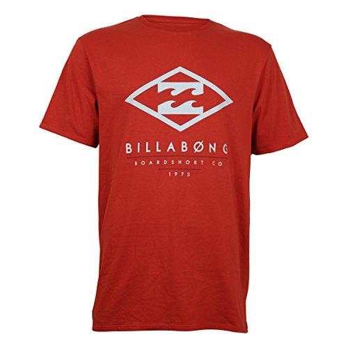 Billabong Herren T-Shirt Sapris Short Sleeve Orange (Red Orange)