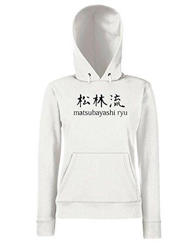 T-Shirtshock - Sweats a capuche Femme TAM0131 matsubayashi ryu light shirts organic mens tshir Blanc