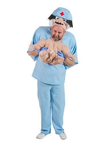 Kostüm Neugeborene in den Armen Erwachsenen