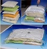 Medium Travel Vacuum Storage Bags for Clothes - 50x70cm - Pack of 4