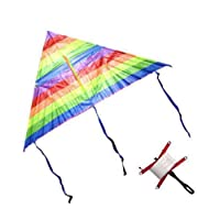Rainbow Kite Outdoor Toys For Children Kids Children's Kite Stunt Kite 120 cm + Thread