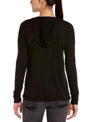 Puma T-Shirt à capuche manches longues Femme Dahlia Noir/nep