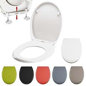 premium duroplast wc sitz absenkautomatik fast fix schnellbefestigung edelstahl befestigung. Black Bedroom Furniture Sets. Home Design Ideas