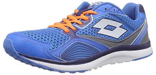 Lotto Speedride Iv, Chaussures de course homme Bleu - Blau (BLU MOO/WHT)