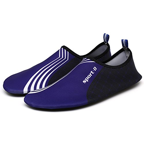 Qlan Chaussettes d'eau pieds nus Chaussettes d'aquarium pour femmes Hommes Unisexe B