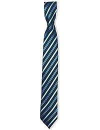 Boys Stripe Slim Tie, Skinny Necktie for Boys 3 to 15 Years old
