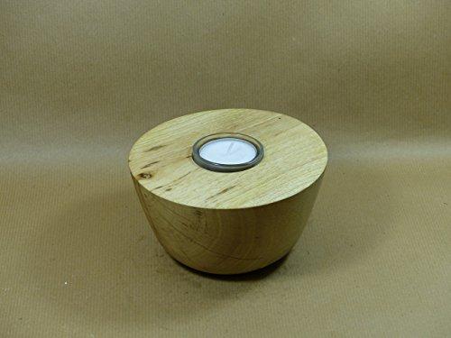 Walnuss-kunst (Teelicht Halter aus Walnuss Holz Hand gearbeitet (gedrechselt) jedes Werk ein Unikat. Key-words: kunst, art, deko, natur, naturholz, handarbeit, kunsthandwerk, kerze, teelicht, teelichthalter)