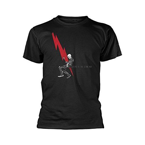 Desconocido Unknown - Camiseta - para Hombre Negro Negro Medium