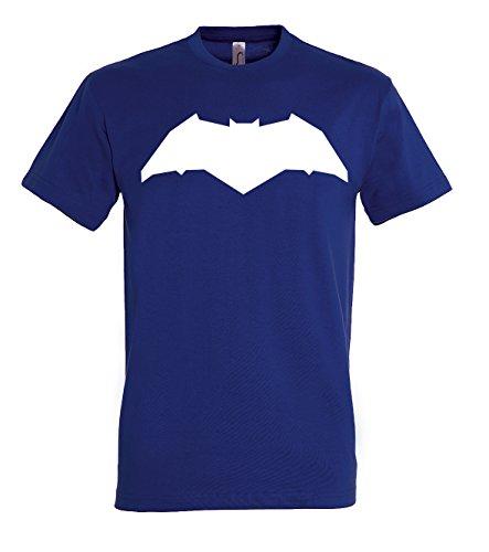 TRVPPY Herren T-Shirt New Batman in verschiedenen Farben, Gr. S-5XL Navyblau