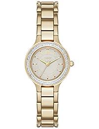 DKNY Damen-Armbanduhr Analog Quarz Edelstahl NY2392