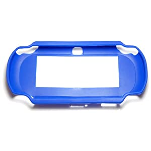 Assecure Blue TPU Silicone Rubber Gel Hard Skin Bumper Protective Case Cover For PS Vita from Assecure