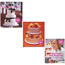 Mich Turner's Cake Masterclass Collection 3 Books Set ITV1's Britain's Best Bakery, (Mich Turner's Cake Masterclass: The Ultimate Guide to Cake Decorating Perfection, Spectacular Cakes and Couture Wedding Cakes)