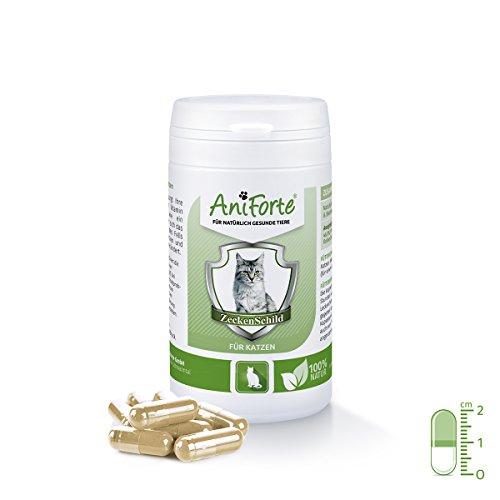 AniForte Zeckenschild natürlicher Zeckenschutz 60 Kapseln - Naturprodukt für Katzen