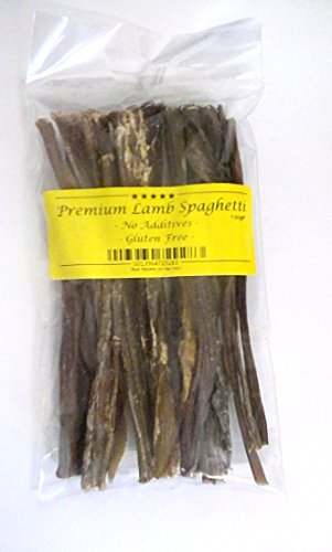 Lamb Spaghetti Jerky (100% Natural Dog Treat-Gluten Free & ideal for sensitive digestion)